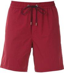 egrey swim shorts - red