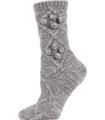blissful bubble warm women's crew socks