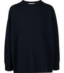 acne studios wool-cashmere jumper - blue