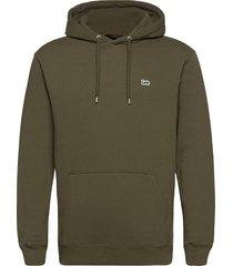plain hoodie hoodie trui groen lee jeans