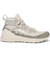 x parley terrex free hiking shoes, alumina grey