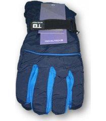guantes azul trendy moto sky