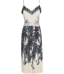 ermanno scervino tropical print dress