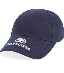 women's balenciaga logo baseball cap -