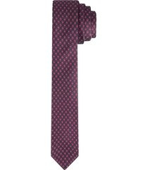 corbata pala ancha en poliéster con textura para hombre 02423