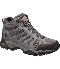 zapatilla gris columbia north plains ii waterproof