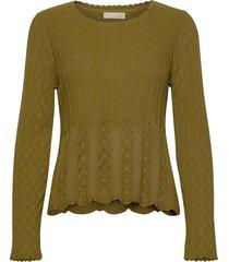 maureen sweater gebreide trui groen odd molly