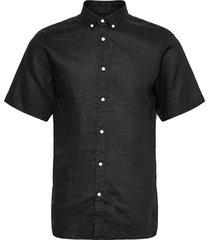 bs chiba kortärmad skjorta svart bruun & stengade