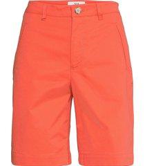 shorts shorts chino shorts orange noa noa