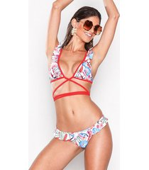 south beach flounce bikini bottom trosa