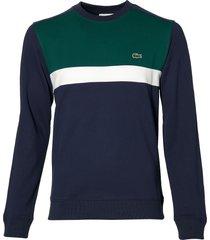 lacoste pullover - slim fit - blauw