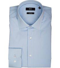 hugo boss overhemd jesse lichtblauw 50410152/452