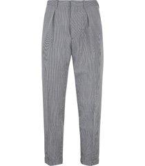prada wool-mohair blend tailored trousers