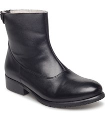 boots shoes boots ankle boots ankle boot - flat svart carla f