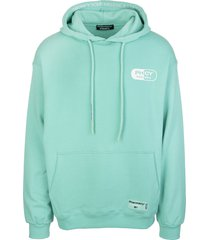 pharmacy industry mint man hoodie with maxi logo