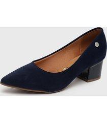 zapato azul marino vizzano