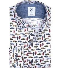 overhemd wit autoprint r2