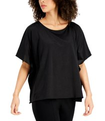 alfani draped-sleeve top, created for macy's