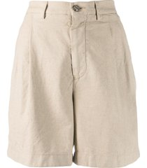 berwich tailored fitted shorts - neutrals