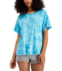jenni boyfriend-fit sleep tee, created for macy's