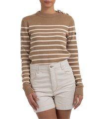 maglione maglia donna girocollo x armor-lux