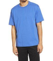 bp. solid crewneck t-shirt, size large - blue