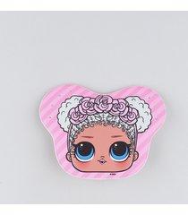 bolsa infantil lol surprise rosa claro