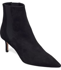 ines ch.bootie 60-s shoes boots ankle boots ankle boot - heel svart hugo