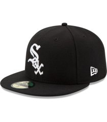 new era chicago white sox authentic collection 59fifty cap