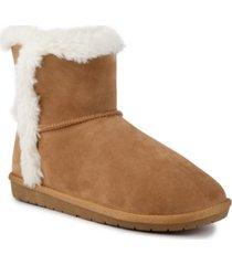 sugar women's poppy fuzzy winter booties women's shoes