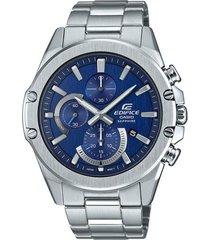 reloj casio efr-s567d-2avudf plateado acero inoxidable