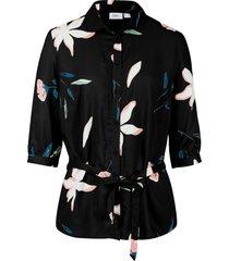 camicetta a fiori (nero) - bpc bonprix collection