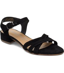 woms sandals shoes summer shoes flat sandals svart tamaris
