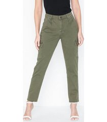 noisy may nmbronx nw cargo relaxed pants noos byxor