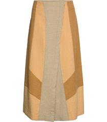 summer mix skirt knälång kjol multi/mönstrad dorothee schumacher