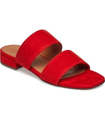 sandals 8716 shoes summer shoes flat sandals röd billi bi