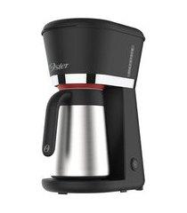 cafeteira oster black com jarra térmica inox 0,7l - 220v
