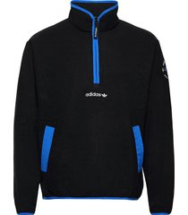 adv hz fleece sweat-shirts & hoodies fleeces & midlayers svart adidas originals