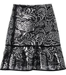 saia guipir flower (preto c foil, 50)