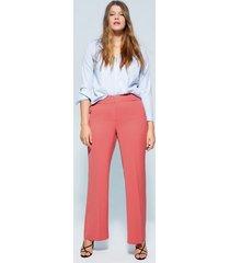 straight-fit pantalon