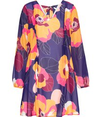 abito a fiori (blu) - bodyflirt boutique