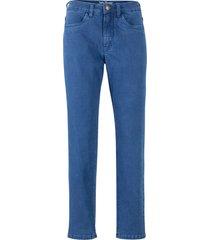 jeans elasticizzati mom fit in cotone biologico (blu) - john baner jeanswear