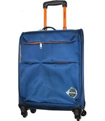 maleta lona mediana 24 pulgadas le sak - azul