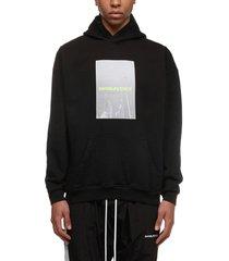 daniel patrick logo print hoodie