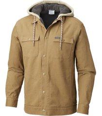 camisa m/l pilot peak shirt camel columbia