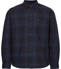 grade shirt overhemd casual blauw makia