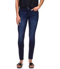 women's dl1961 'danny' instasculpt skinny jeans, size 26 - blue