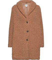 cindysz jacket outerwear faux fur brun saint tropez