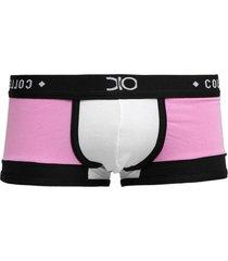 cueca boxer premium dionisio collection rosa