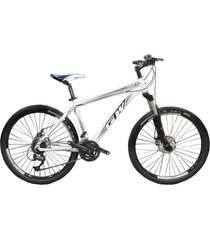 bicicletas todo terreno gw alligator  rin 27.5 shimano 7 v. freno disco suspen blanco negro